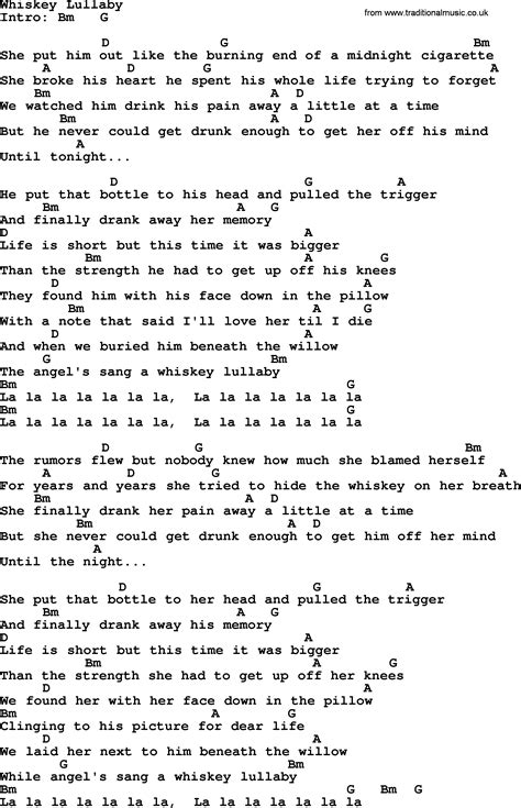 Whiskey lullaby lyrics pdf download / fearful-copiers.cf