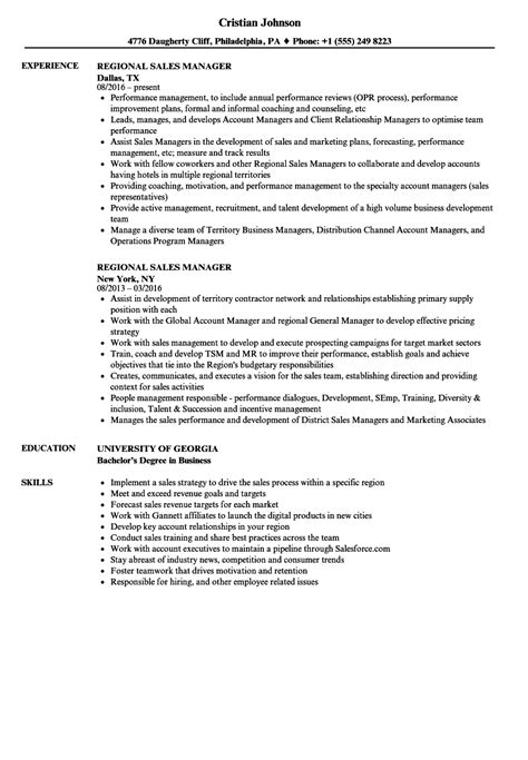 Business development and regional sales manager resume png 860x1240
